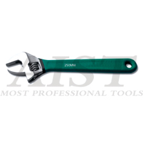 Adjustable Wrench W/Dual Plastic Handle